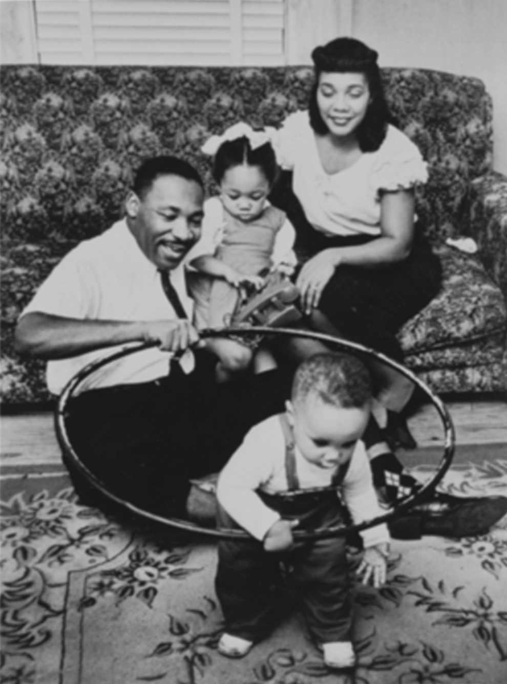 martin luther king as a child