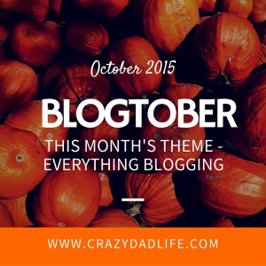 Welcome to Blogtober 2015!